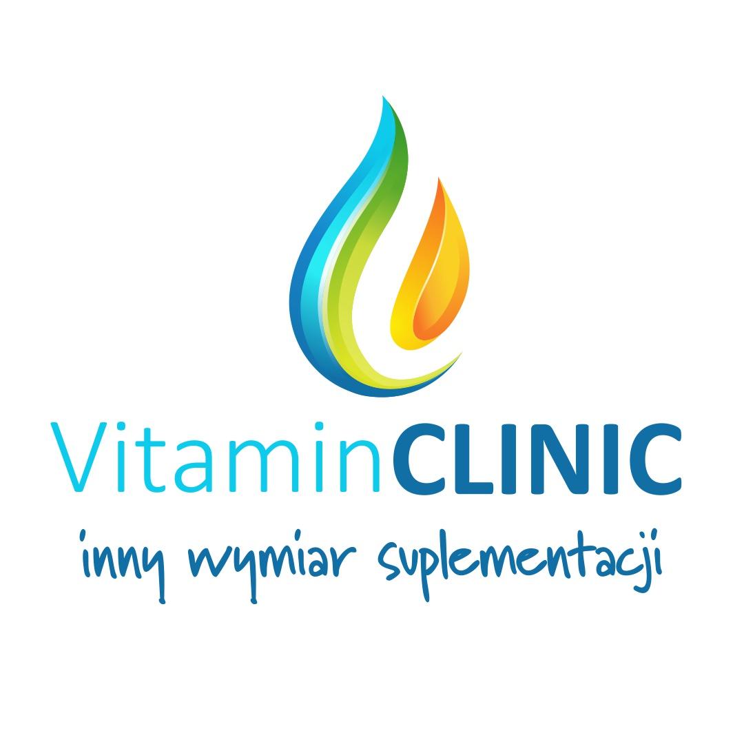Logo Vitamin Clinic - Inny wymiar suplementacji. Klinika witaminowa.
